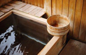温泉 お風呂 檜